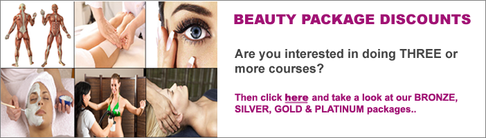 Are you interested in doing three or more beauty courses at Kent Beauty School?  Then click here and one of our training managers will contact you with a tailored solution.